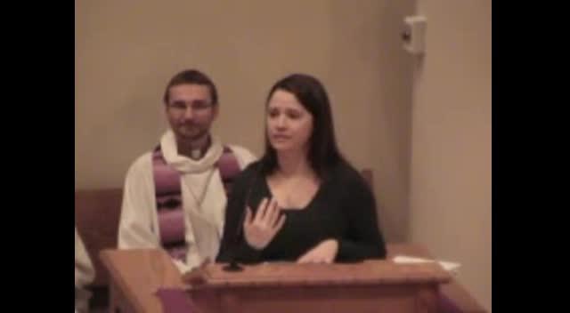 ELC Temple Talk - Laura Oslik 03/04/2012