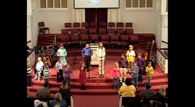 3-4-12 Children's Choir Special