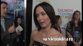 SALMON FISHING IN THE YEMEN red carpet interviews