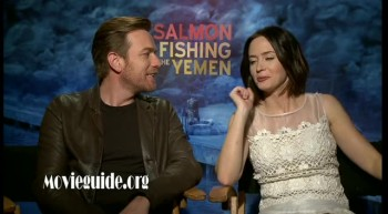 SALMON FISHING IN THE YEMEN - Ewan McGregor  Emily Blunt interview