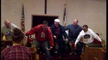 Church elders doing the Hippo Song