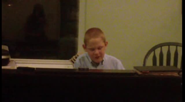 Blind Autistic Boy Sings Your Grace Is Enough (Christopher Duffley)