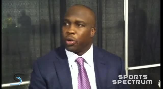 Sports Spectrum TV - London Fletcher, 2012 Bart Starr Award winner