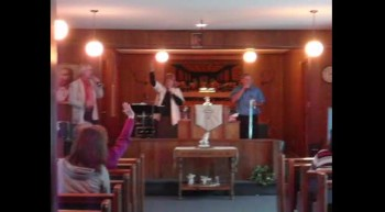 THE CARTER FAMILY HOLY GHOST SINGING IN ROBBINS NC LONG AS I GOT KING JESUS