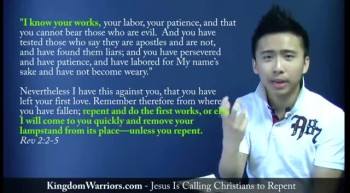 Jesus Is Calling Christians To Repent