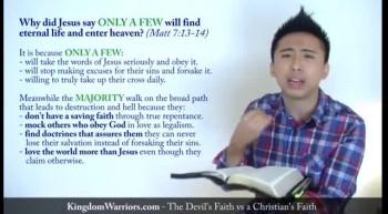 Devil's Faith vs Christian's Faith