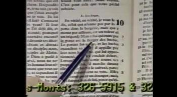 Fernand Saint-Louis - Le Bon Berger - Jean 10:1-6