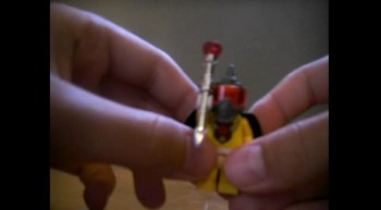 how to make a lego scepter
