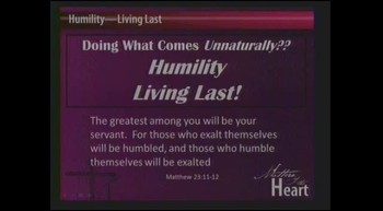 Ascension Lutheran Church Sermon - Matters of the Heart: Humility