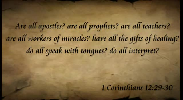 The True Gift of Speaking in Tongues