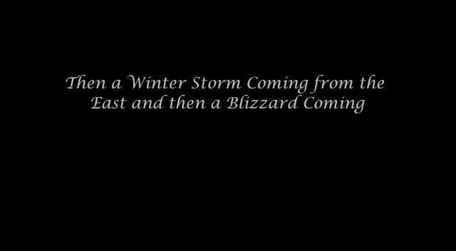 Blizzard in 2012