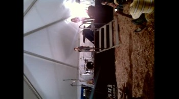 GAGE RHYMER (7 YEARS OLD) SPEAKING AT THE TENT FOR TEENS EVENT