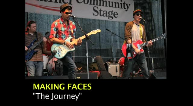 THE JOURNEY by Making Faces (Lyric Video)