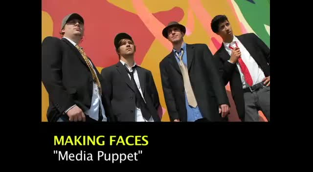 MEDIA PUPPET by Making Faces (Lyric Video)