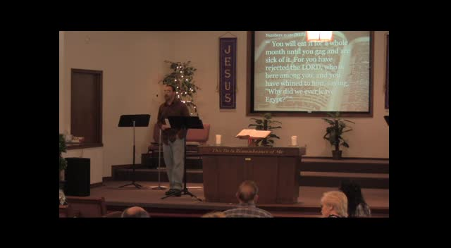 """A Chalk Artist's Perspective"", Edgard Torres 03-25-12 FBC Caney, KS"