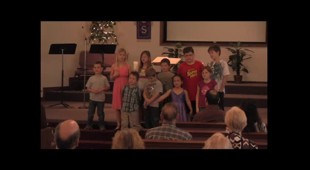 FBC Caney, KS Children's Choir 03-25-12