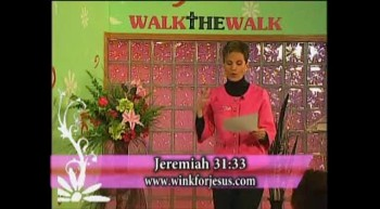 Walk the Walk with Ramona Wink-Mind of Christ! 4-4-12