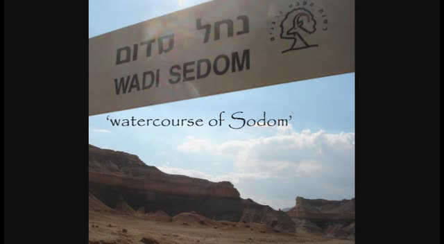 Sodom and Gomorrah (a visual tour)