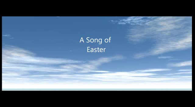 A Song of Easter
