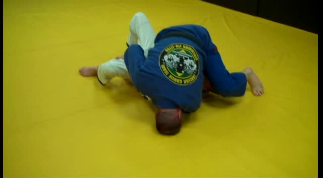 Indianapolis Jiu Jitsu Kimura Closed Guard Hip Bump Variation
