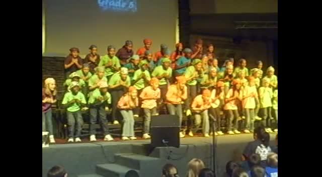Make A JoyFul noise 2012 grade 5