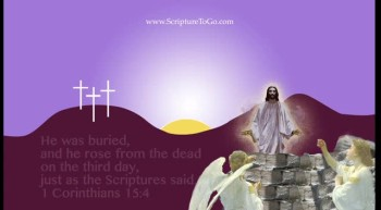ScriptureToGo.com Easter Card
