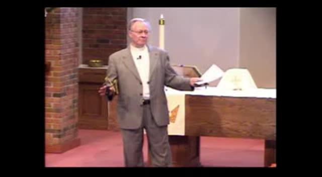 """Through the """"Splash"""" of Baptismal Water (04-08-12)"""
