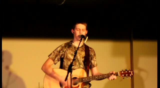 Wil Bates Youth Worship Leader 2012-03