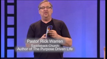 Rick Warren Talks About The Lord's Prayer Roleplay Reader