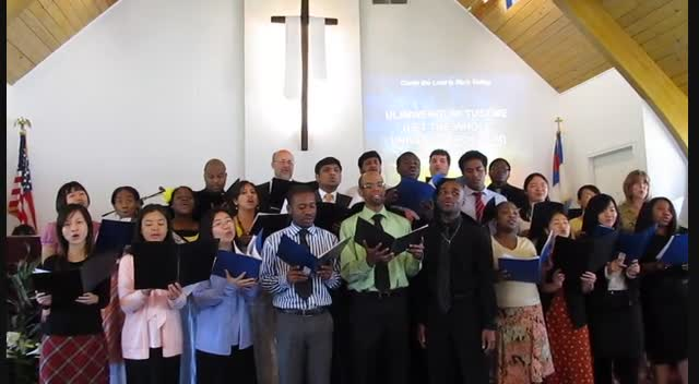 Calvary Campus Choir - 2012b