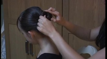 How to make a Long Hair Bun for Ballet