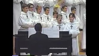 "Funny!  Choir Boys Perform ""Meow"" Song"