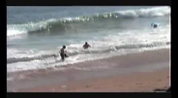 Adolfo e Lucas nas praias da California