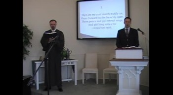 "Congregational Hymn: ""Stand Up, My Soul,"" Trinity Hymnal, First OPC Perkasie, PA MacLaren"