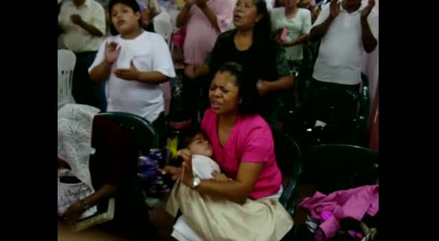 Worship in Veracruz Mexico