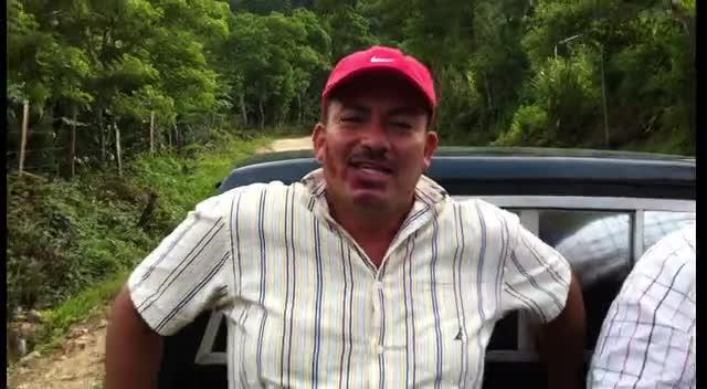 Subiendo la Montaña de Chirimai Esquipulas Guatemala