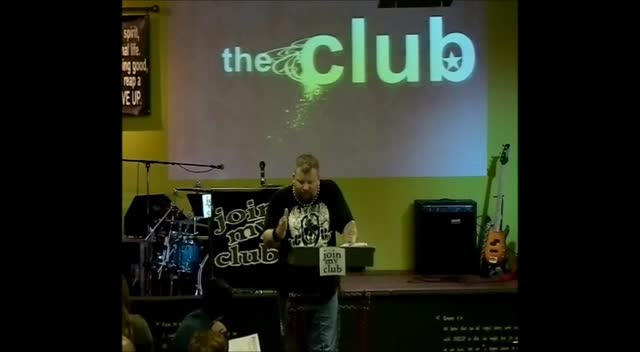 Join My CLUB 4-13-12