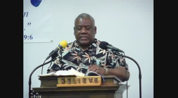LIVING VICTORIOUSLY OVER FEAR PART 7 Pastor James Anderson April 17 2012c