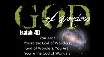 God OF Wonders - Kiruba Stephen