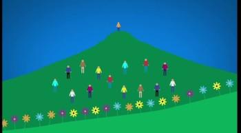 Spiritual mountain climbing