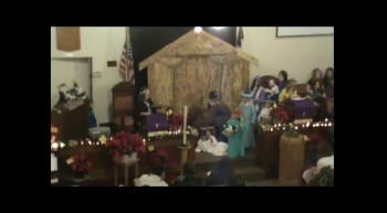 First Presbyterian Christmas Eve Lancaster WI part 1