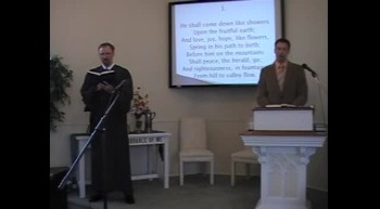 "Congregational Hymn: ""Hail to the Lord's Anointed!"" First OPC Perkasie PA 4/22/2012"