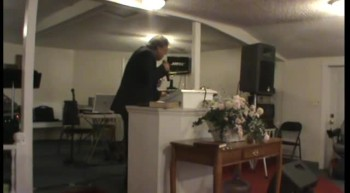 EVANGELIST JOSEPH CARTER OF THE CARTER FAMILY MINISTRIES PREACHING AT FREEDOM LIGHT PENTECOSTAL HOLINESS CHURCH APRIL 22 2012
