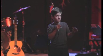 3rd grader performs Tim Hawkins
