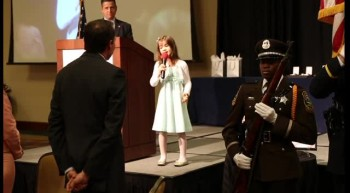 Kaitlyn Maher (8 years old) - God Bless America Medley