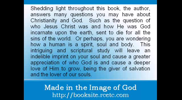 Independent Book Review of: Made in the Image of God