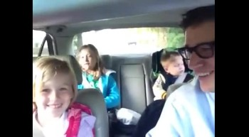Coolest Dad Ever. Dad Sings Bohemian Rhapsody With Kids On the Way to School