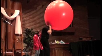 Can you fit into a balloon?