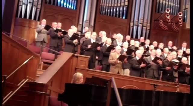 Stonebriar Men's Choir #1