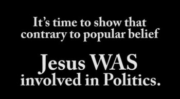 Jesus Is Involved In Politics